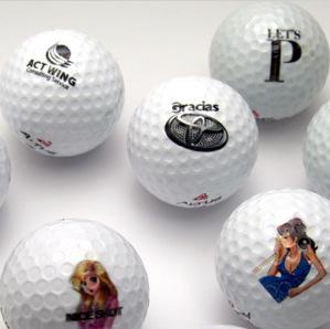 ゴルフボールオリジナル印刷