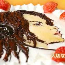 似顔絵ケーキのはりまや