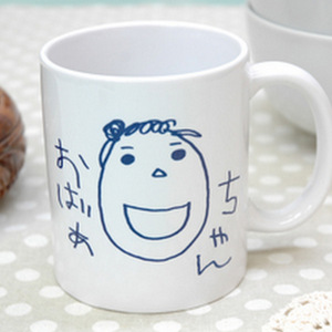 オリジナル似顔絵マグカップ