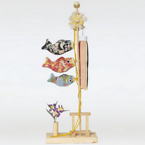 五月人形キット(あやめ鯉のぼり)