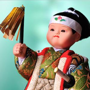 手作り 木目込み五月人形