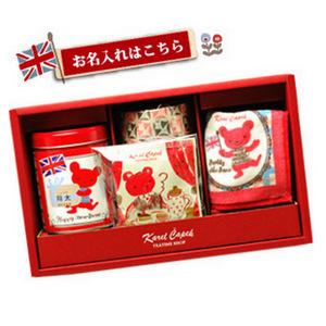 【名入れギフト】紅茶とお揃いのタオルのセット