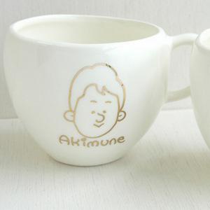 似顔絵イラスト入りマグカップ