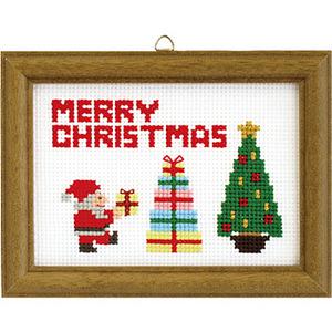 クリスマスステッチ刺しゅうキット
