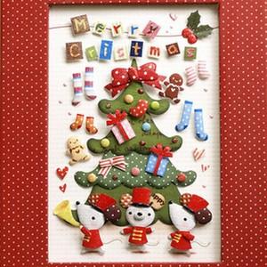 切り絵キット クリスマスツリー