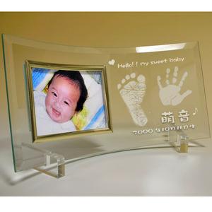 出産祝い 手形・足形フォトフレーム