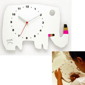 オリジナル時計(五味太郎 直筆サイン入り)